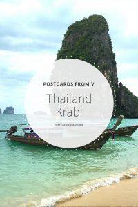 pinterest, thailand, krabi, postcards from v