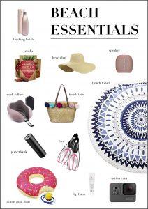 Beach Essentials, Pinterest