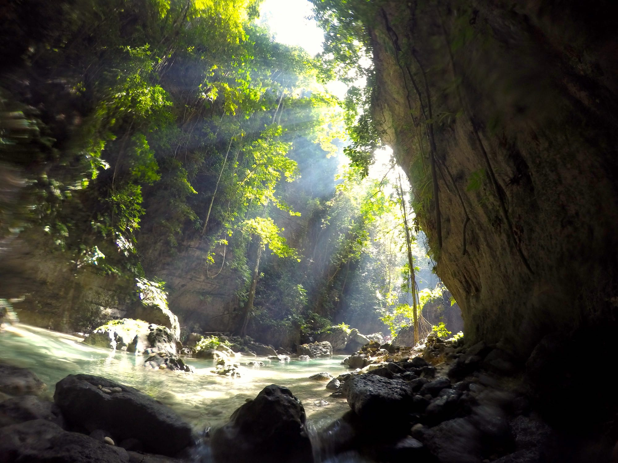 Cebu, Philippines, Itinerary, Canyoneering