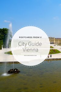 pinterest, vienna, city guide, postcards from v