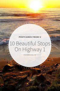 pinterest, highway 1, california, postcards from v
