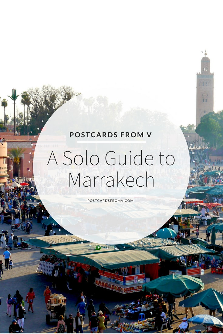 Pinterest, solo guide, marrakech, postcards from v