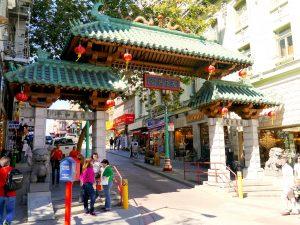 Gate to Chinatown