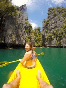 Kayaking, Lagoon, Palawan