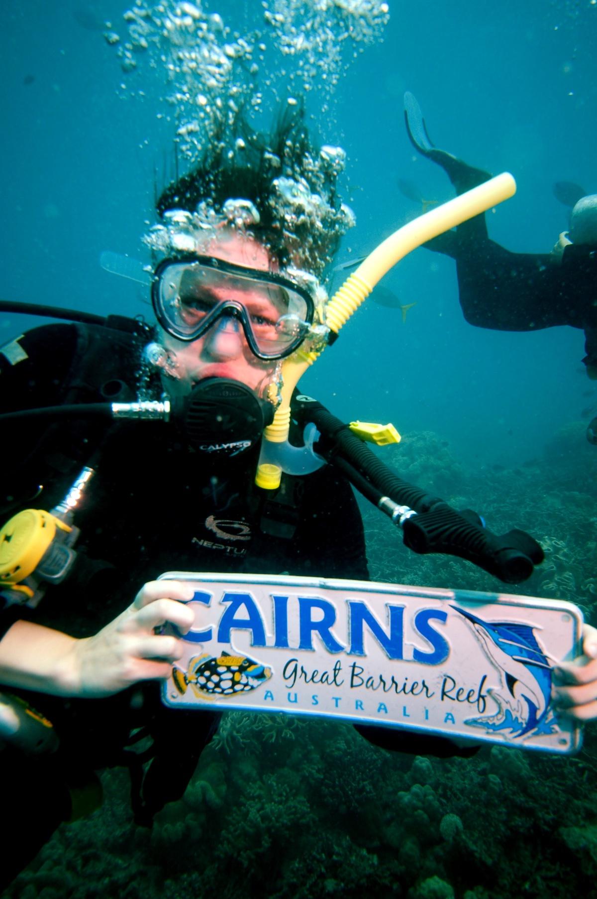 Great Barrier Reef, Diving, Cairns, Underwater