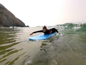 Surfing, Algarve, Wave