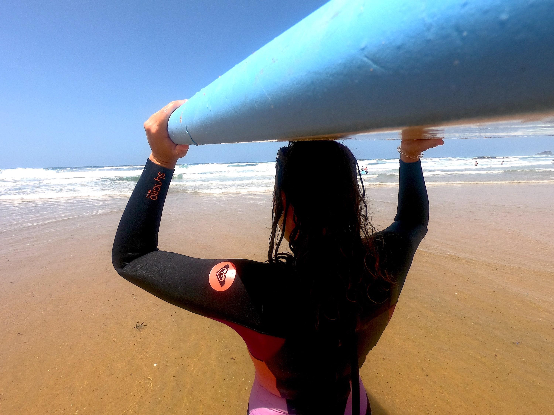 Surfing in the Algarve, Surfboard