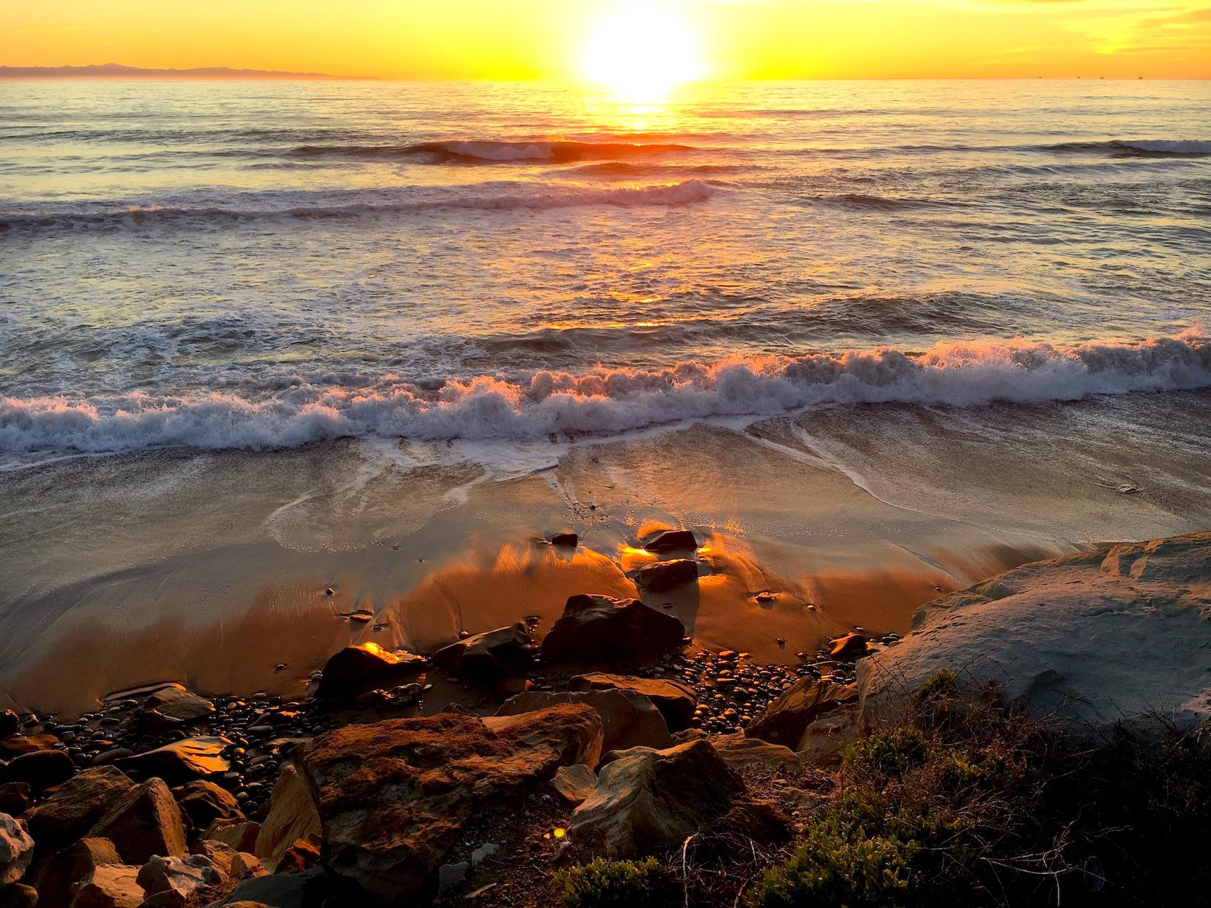 Highway 1, Roadtrip, Sunset, beach, Ocean