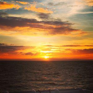 Sunset, Ocean, Koh Tao
