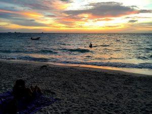 Sunset, Beach, Koh Tao