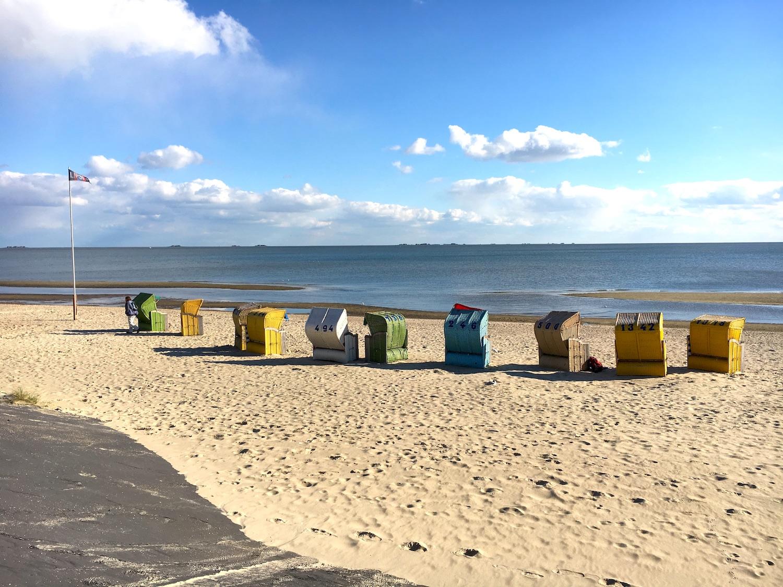 Foehr, North Frisian Island, Beach Chairs