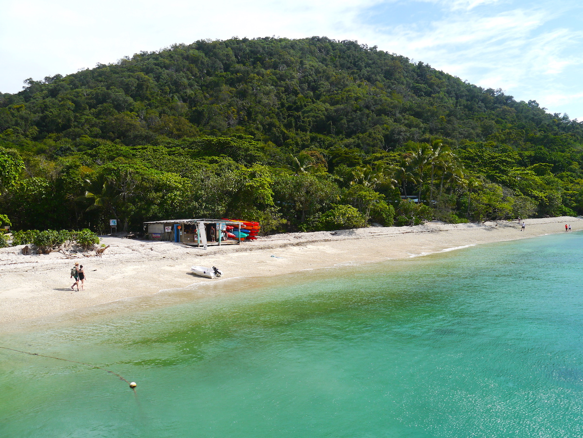 Great Barrier Reef, Diving, Fitroy Island, Beach