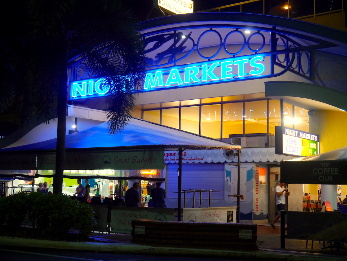 Cairns, Australia, Night Markets