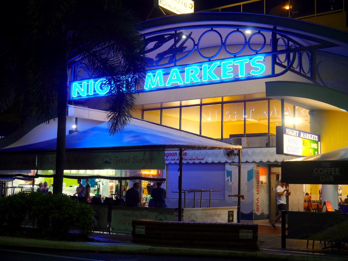 Cairns, Australia, Night Markets
