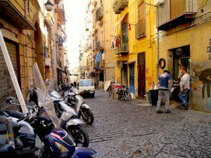 Naples, Italy, Itinerary, Vespas