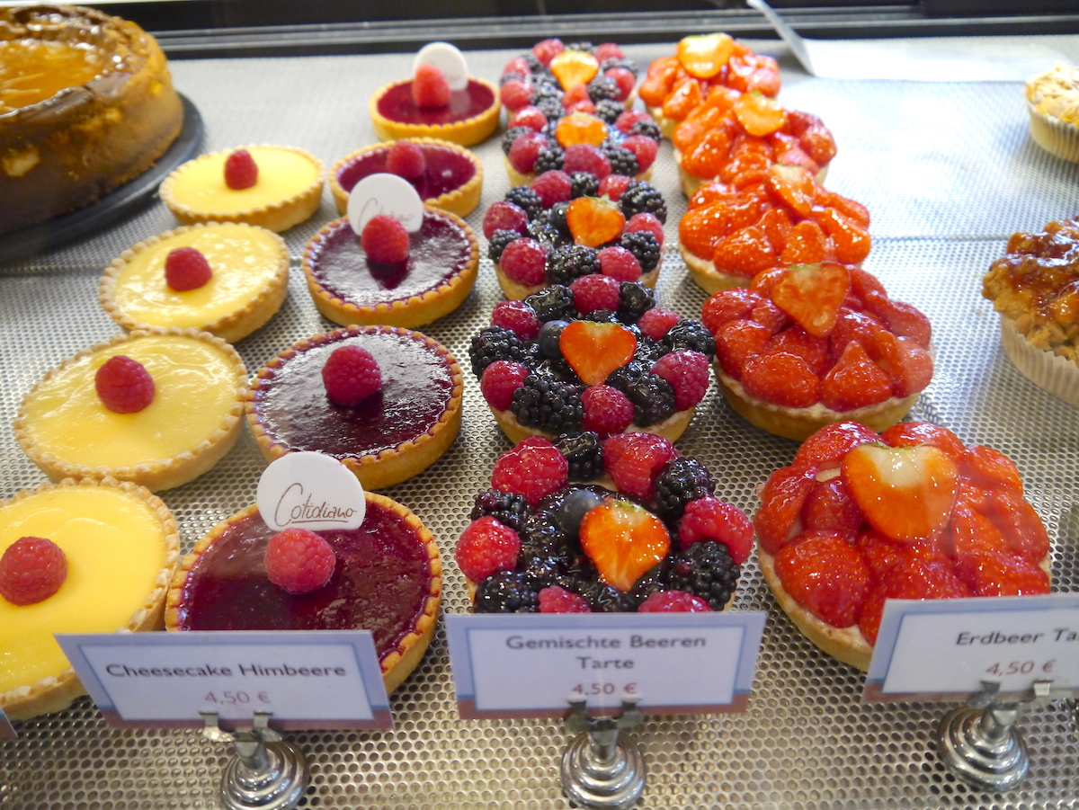 Cotidiano, Fruit Tartes, Cafés, Munich