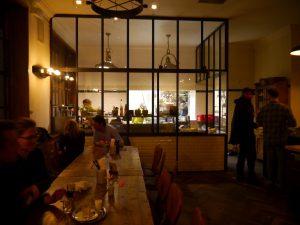 Fiedler & Fuchs, Restaurant