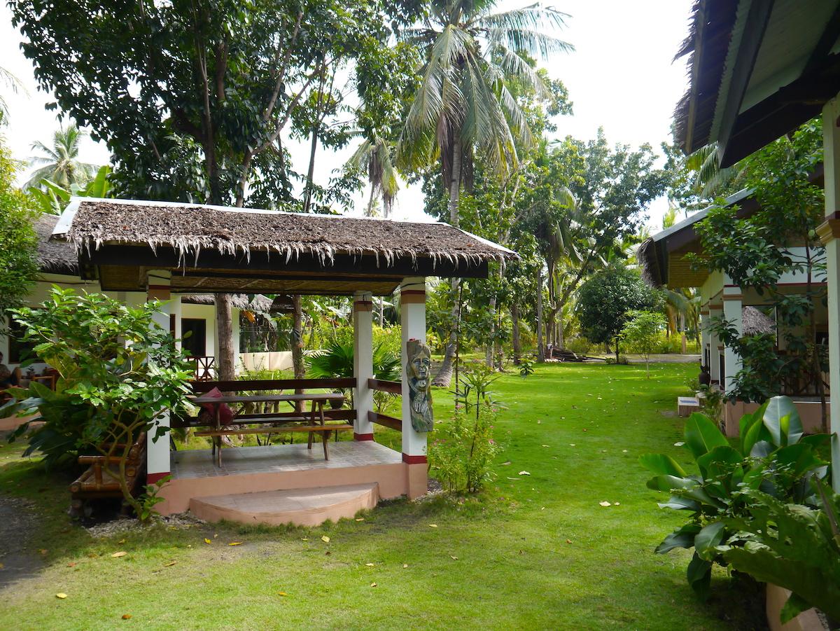 Bohol, Philippines, Itinerary, Hotel, Garden