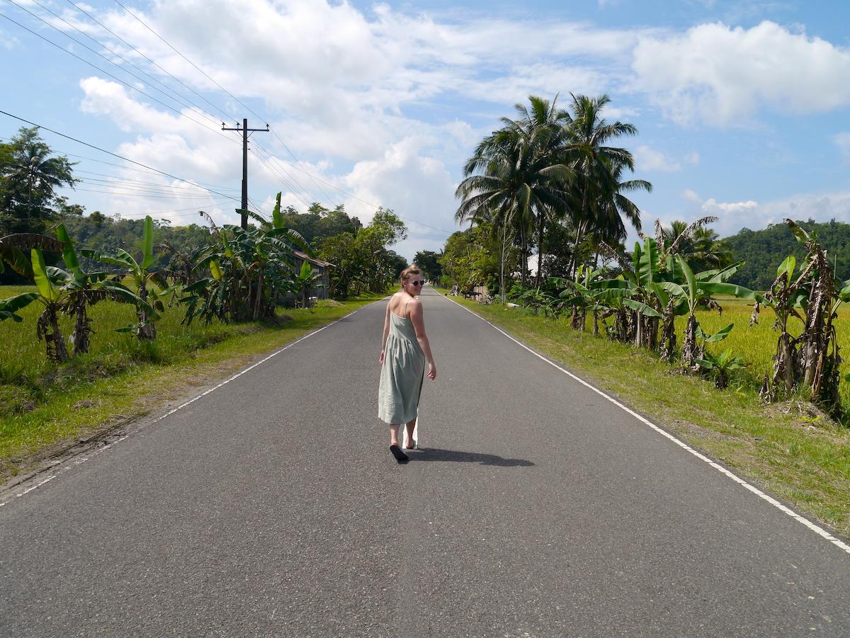 Walking the street