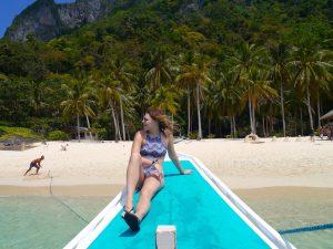 Beach, Boat tour, Posing