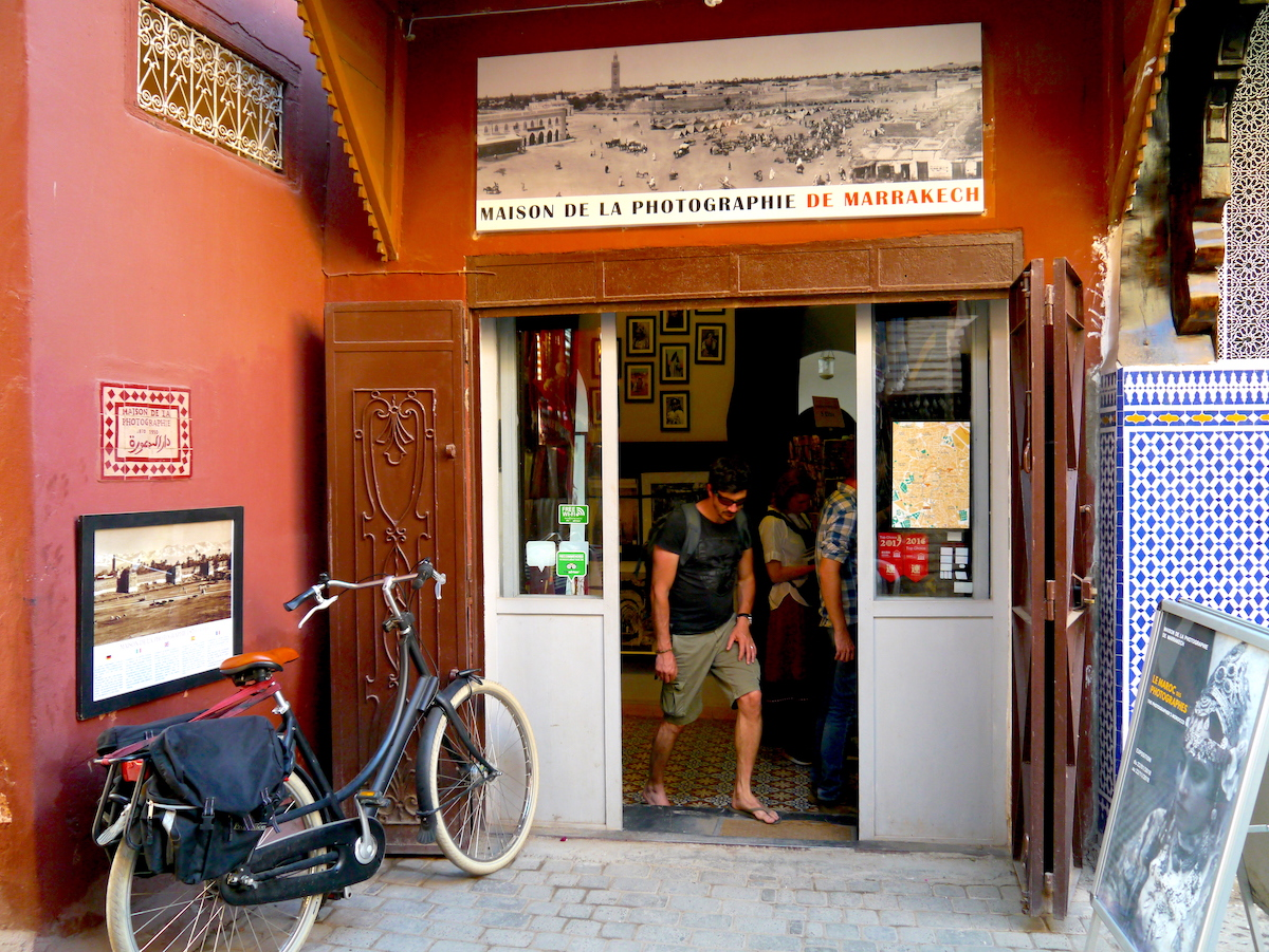 Solo Guide, Marrakech, Morocco, Maison de la Photographie, Entrance