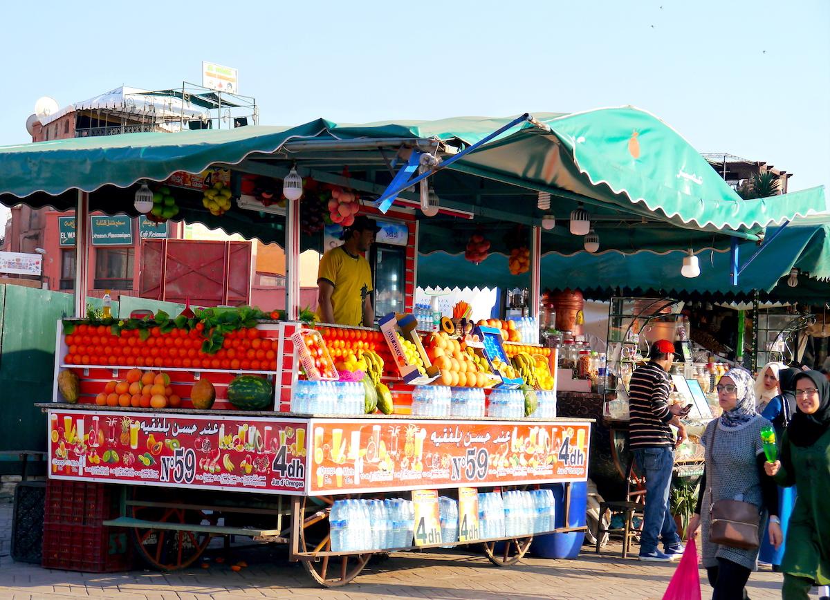 Street Market, Orange Juice