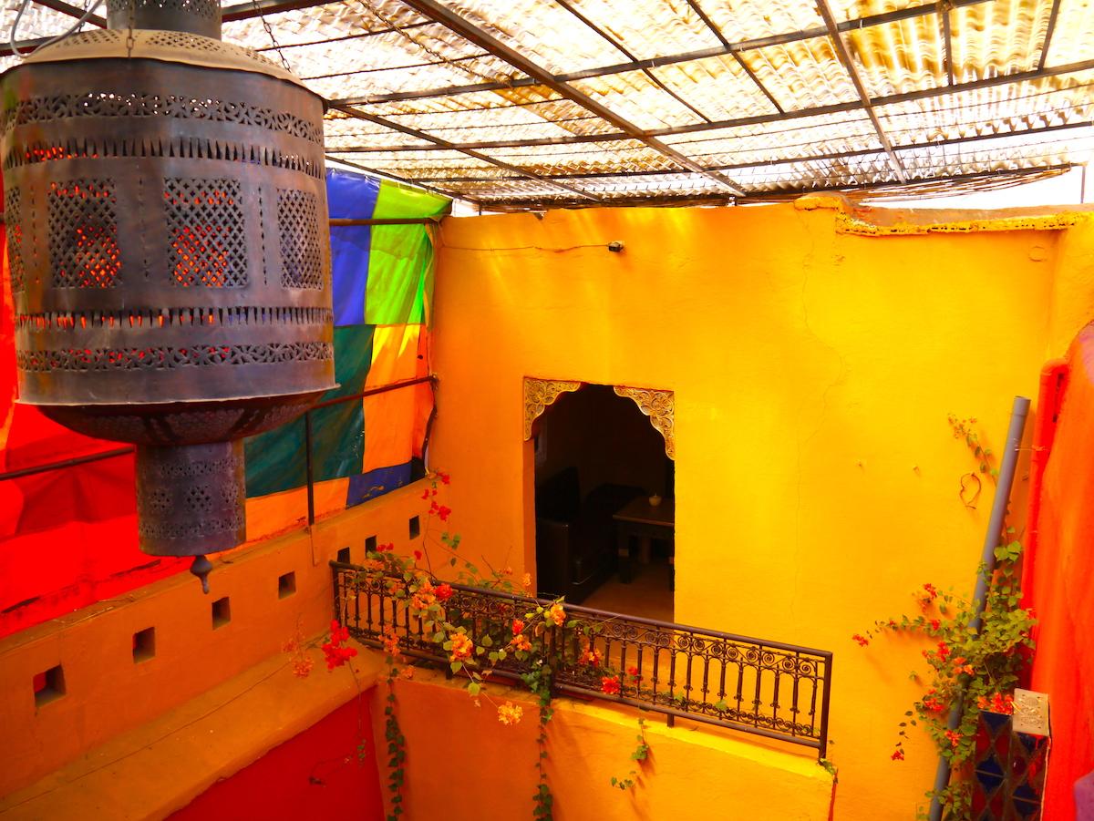 Morocco, Earth Café, Marrakech
