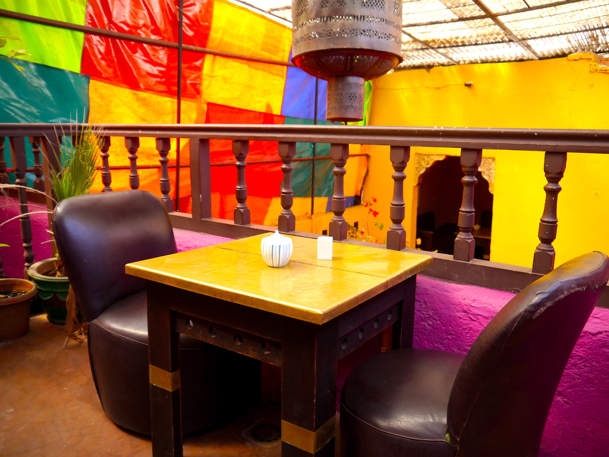 Seats, Earth Café