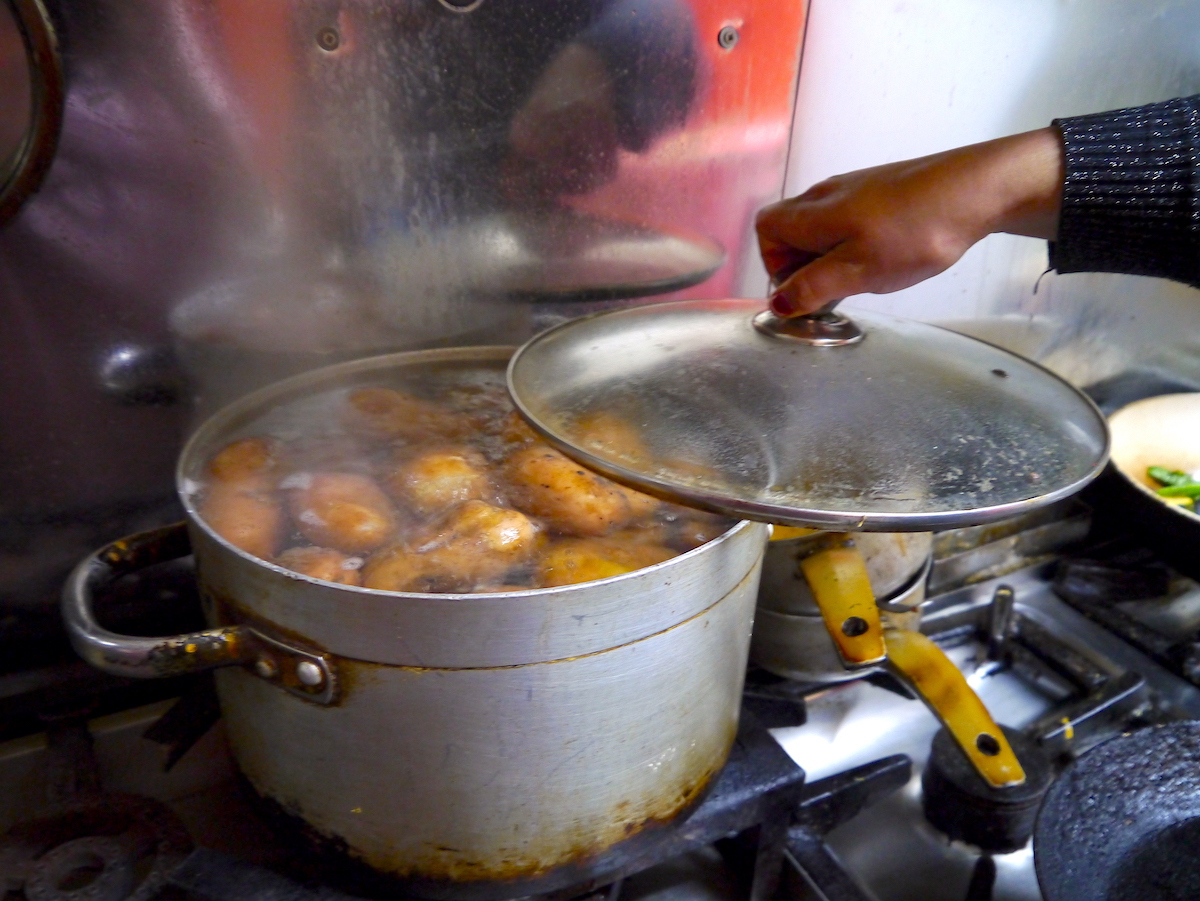 Potatoes, Cooking Class