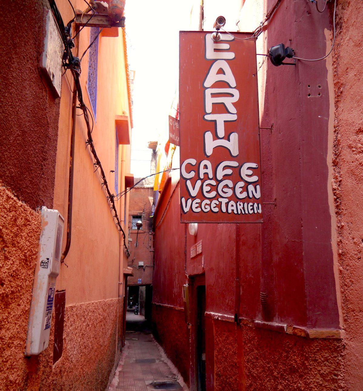 Cooking Class, Morocco, Earth Café, Marrakech