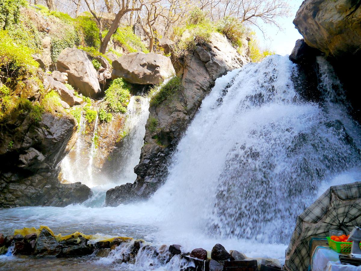 Atlas Mountain, Waterfall