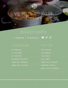 Recipe, Veggie Burger, Cooking Class, Marrakech
