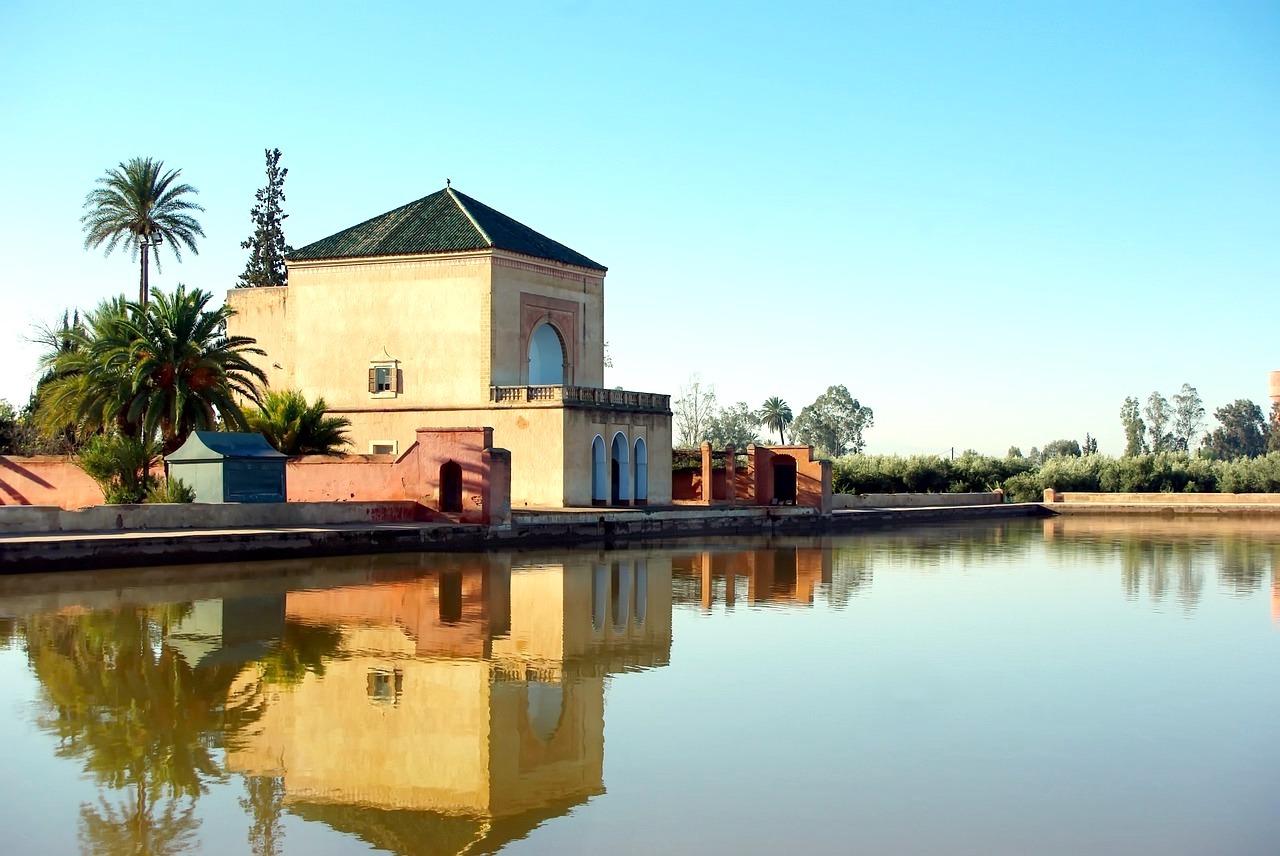 Solo Guide, Marrakech, Morocco, Les Jardins de la Ménara