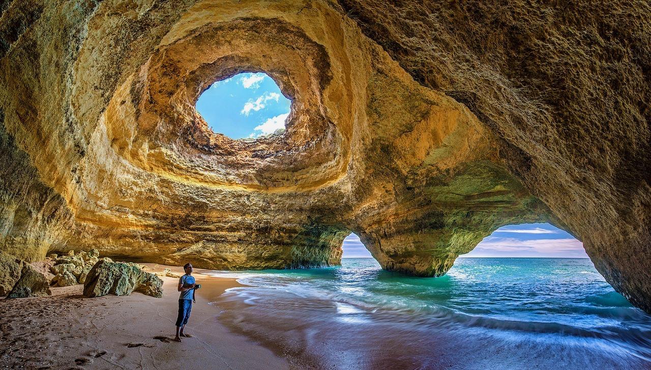 Portugal, Algarve, Benagil Cave