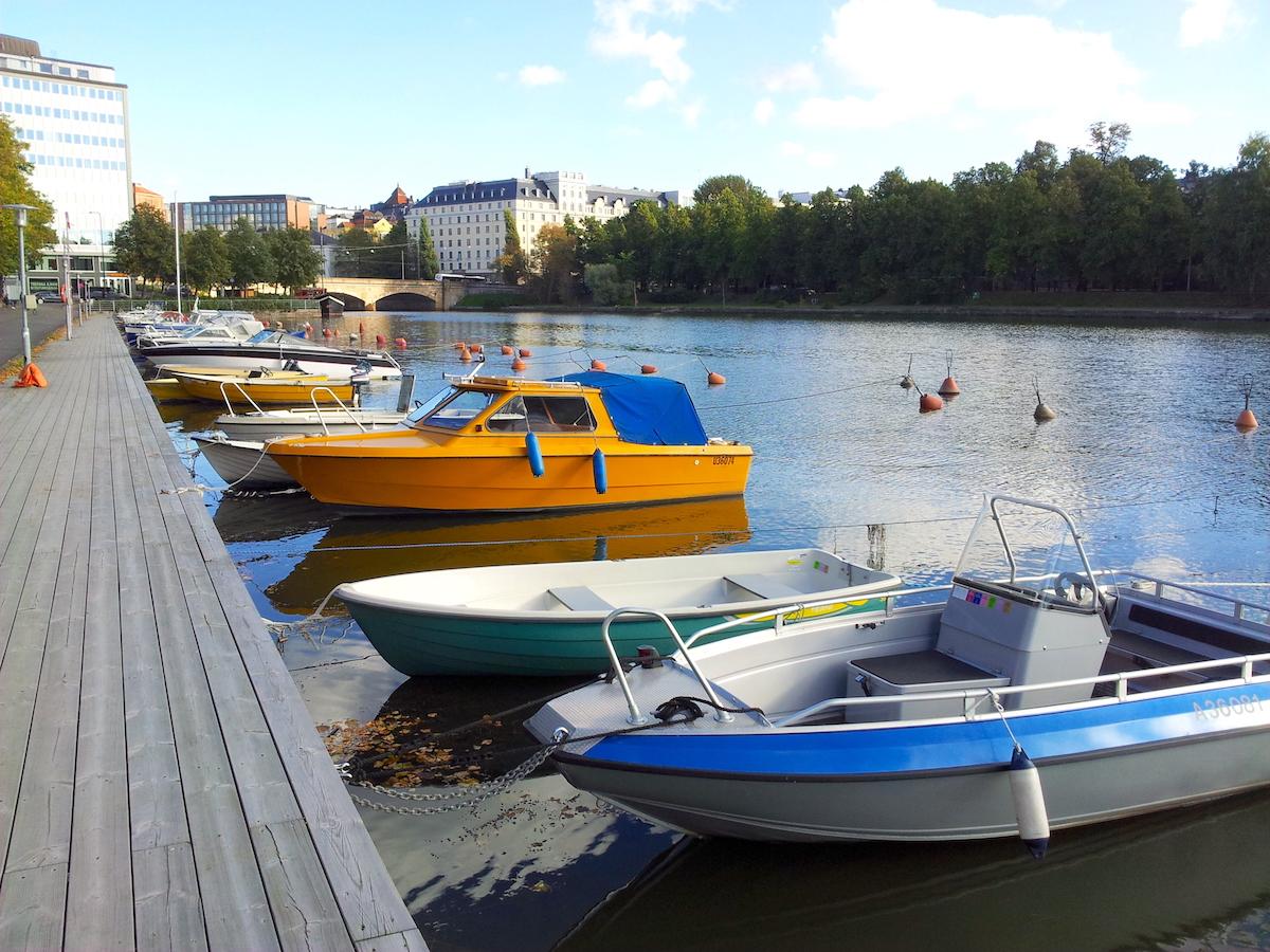 Boats, Helsinki