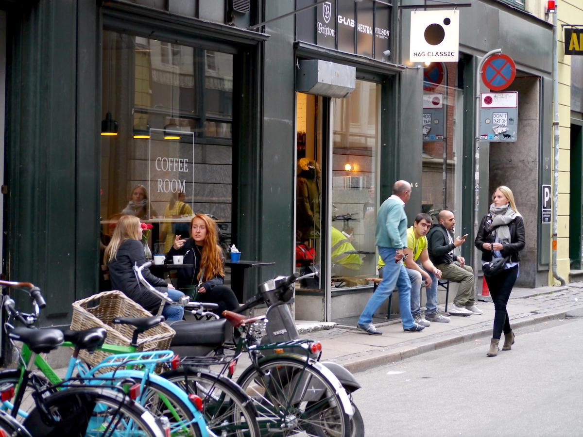 Copenhagen, Streets