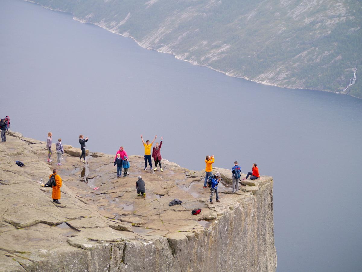 Preikestolen, Fjorde