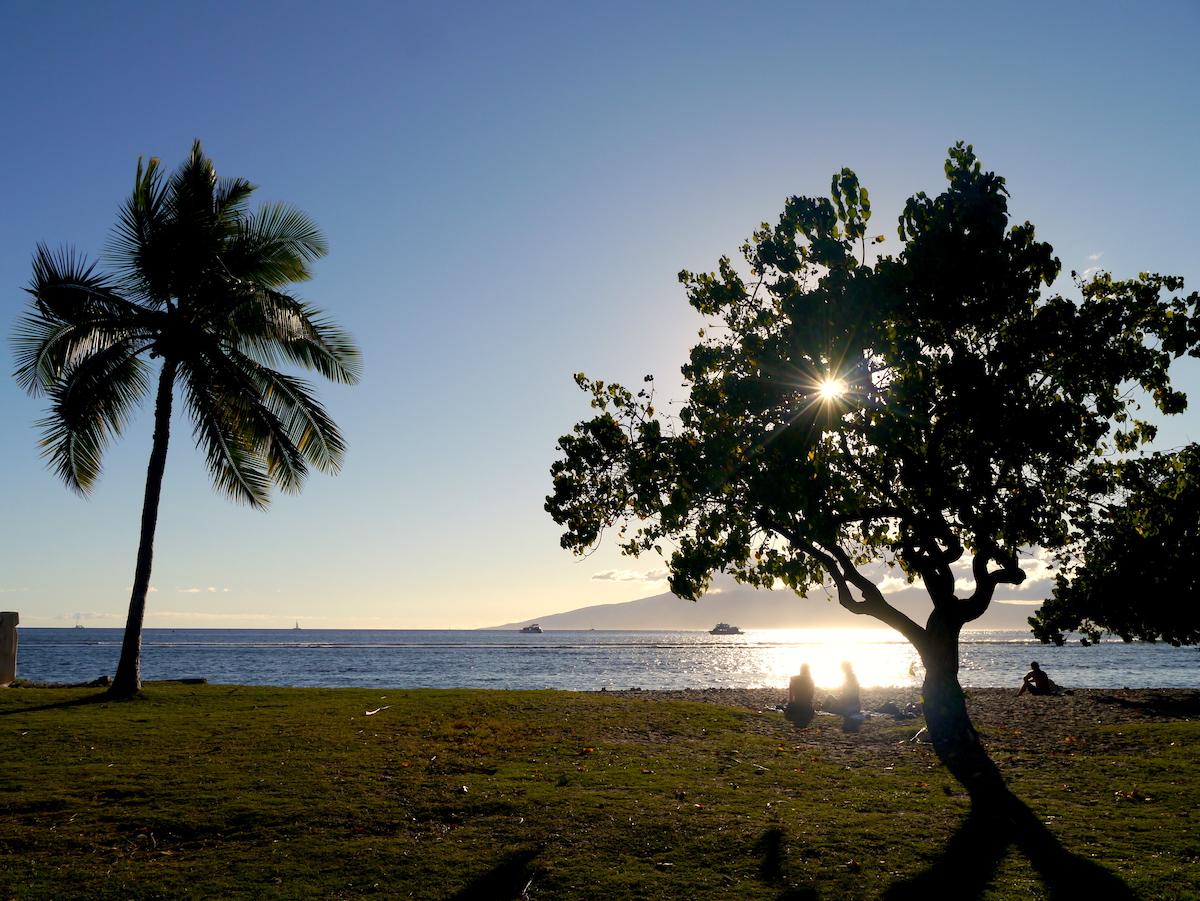 Lahaina, beach