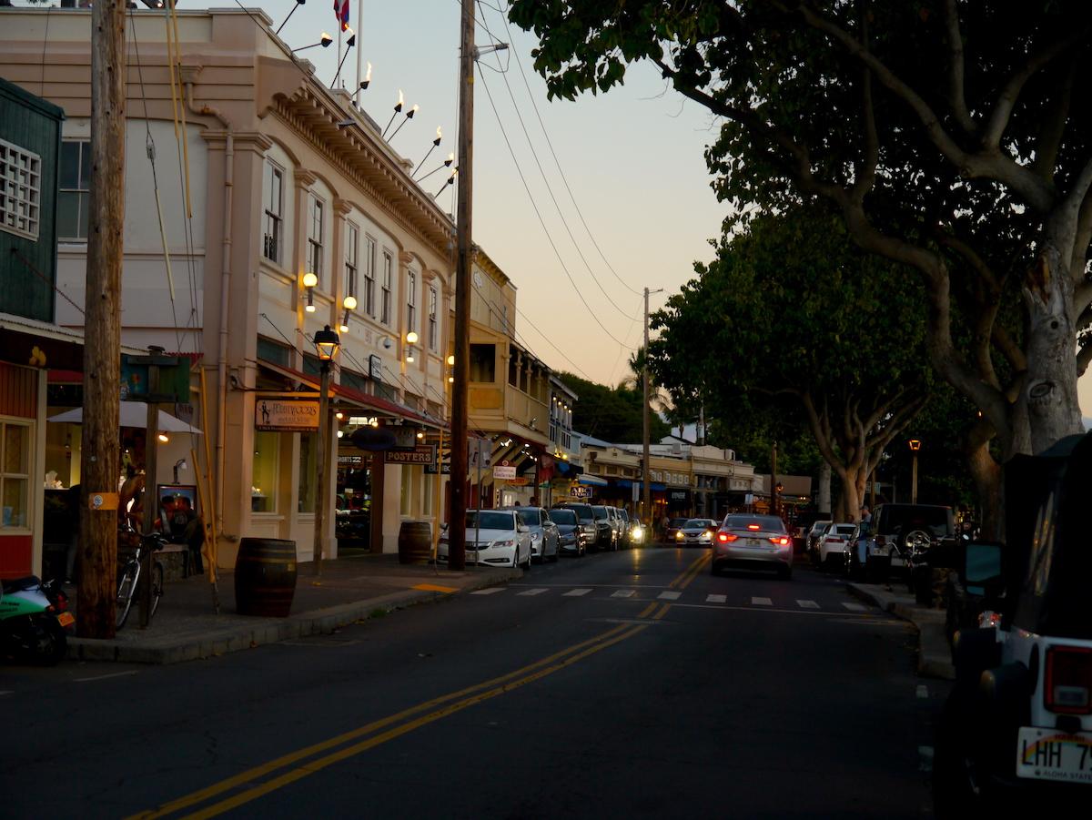 Lahaina, Front Street, Maui 5 day itinerary