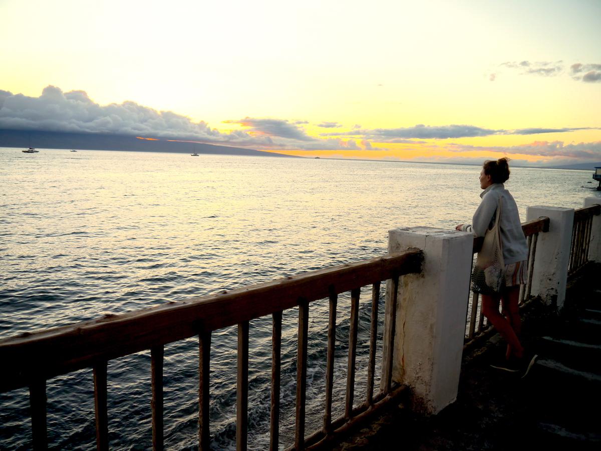 Maui, Sunset in Lahaina