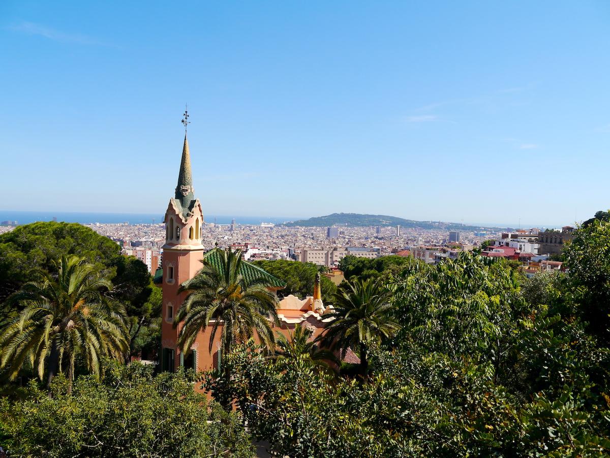 Park Güell, 3 day sin Barcelona