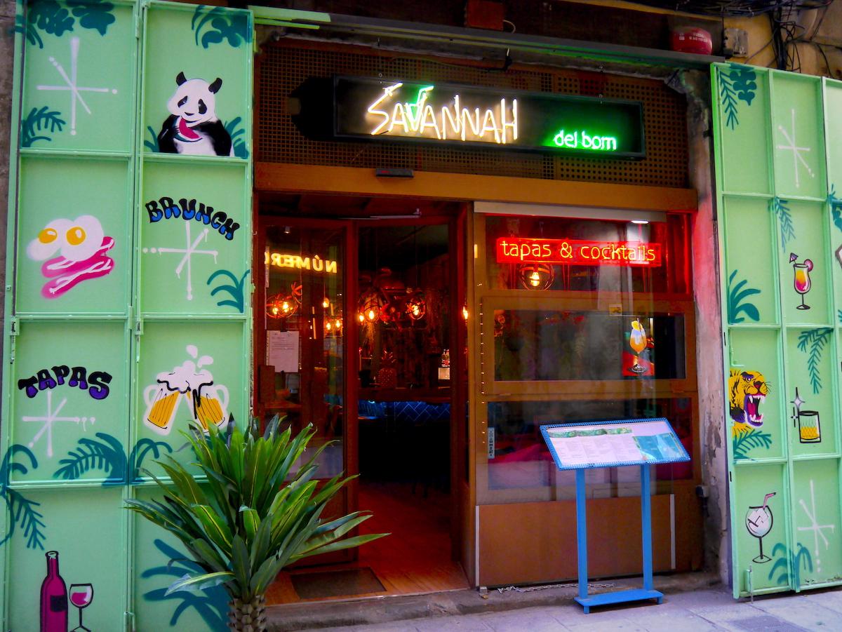 Savannah Bar, 3 days in Barcelona