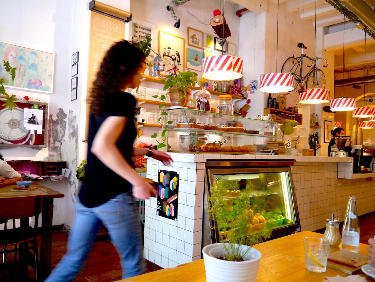 Café Cosmo, 3 days in Barcelona