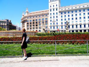 3 days in Barcelona, Placa de Catalunya