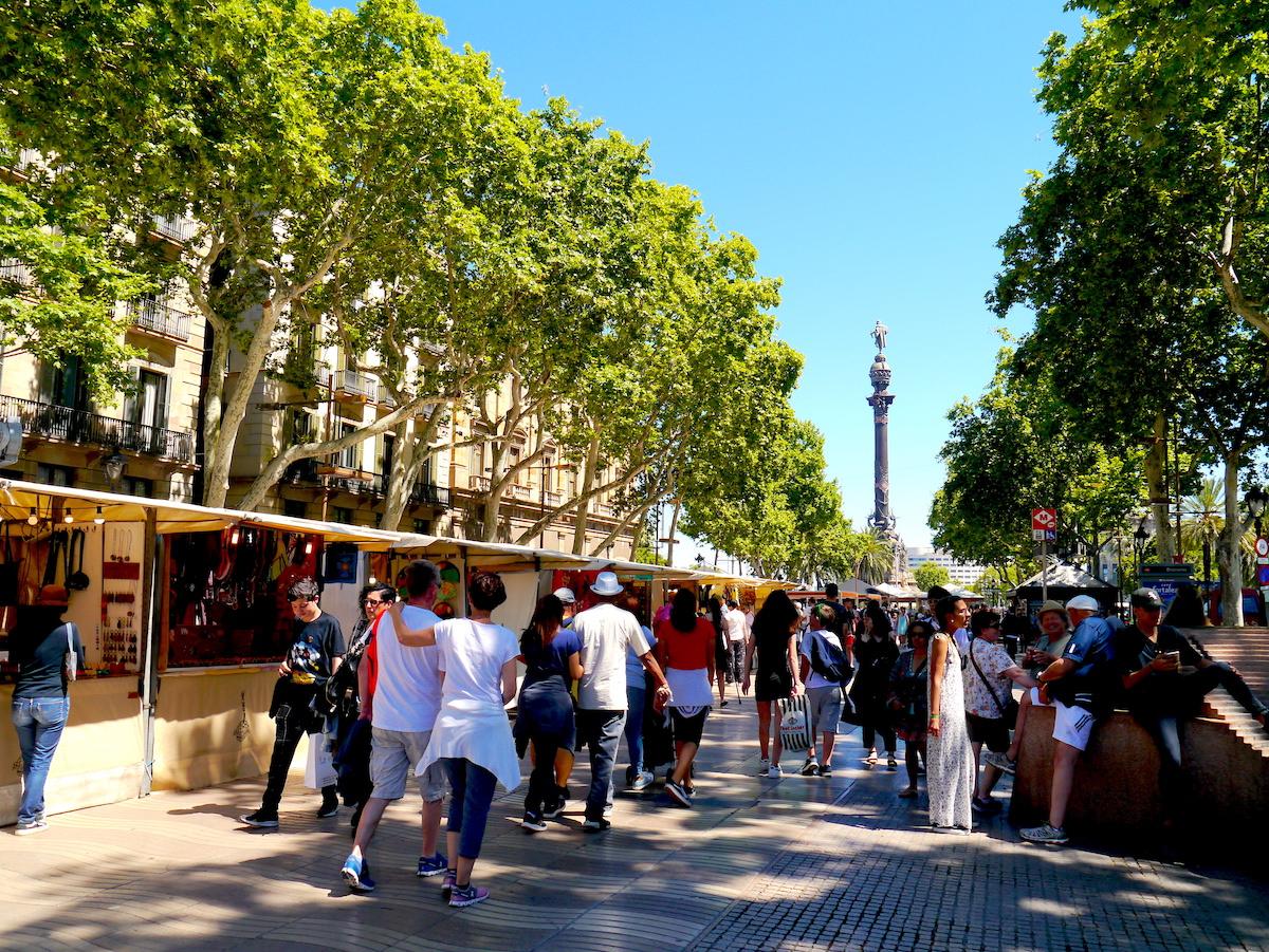Las Ramblas, 3 days in Barcelona