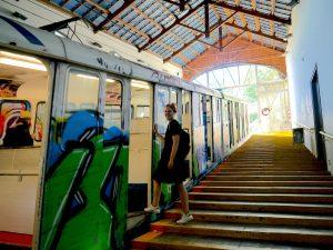 3 days in Barcelona, Tram to Tibidabo