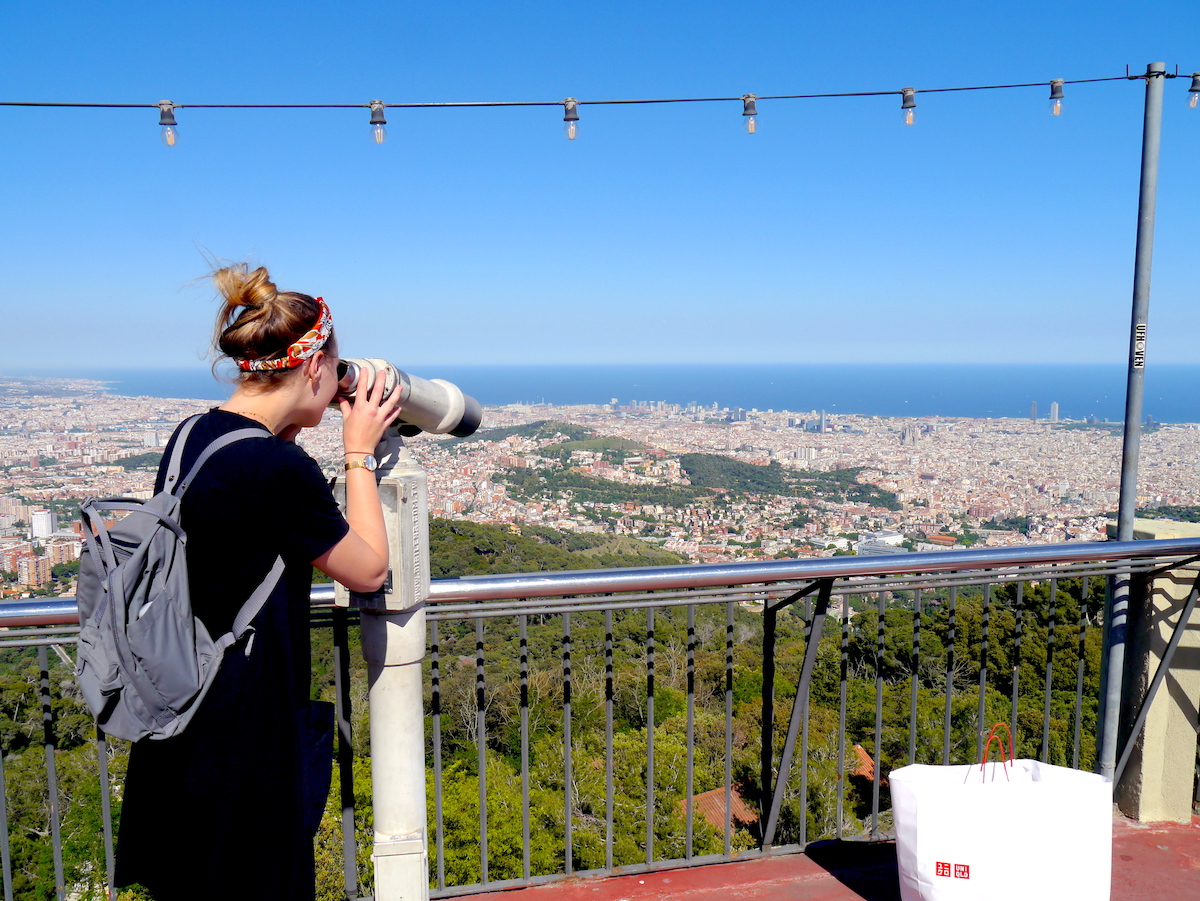 View from the mountain, 3 days in Barcelona