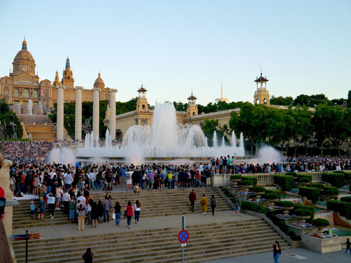 3 days in Barcelona, Magic Fountain