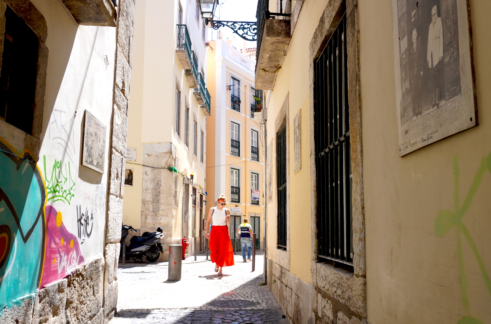 Streets in Lisbon