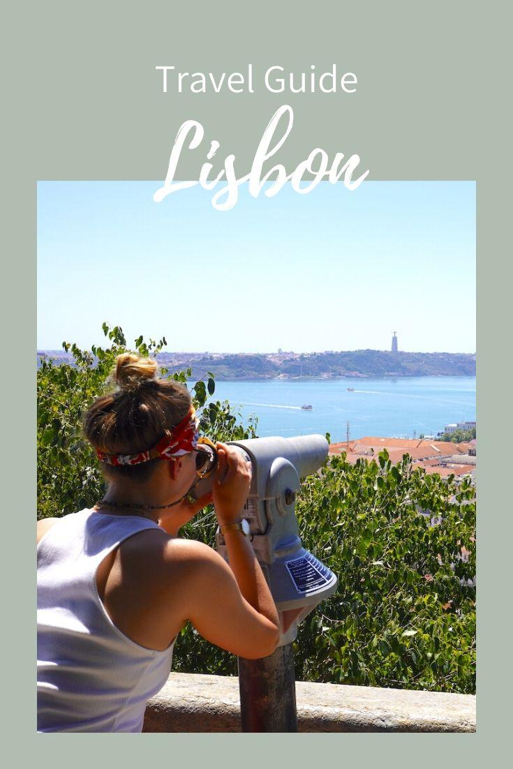 Lisbon travel guide, pinterest, pin it